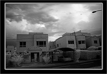 infrared photo house Kuwait
