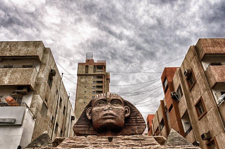 Sphinx in Kuwait